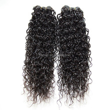 100% Unprocessed Hair Weft Virgin Jerry Curl Weave Extensions Human Hair