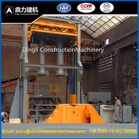 Sell, vertical vibration casting concrete pipe machine for small diameter 300-1200