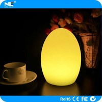 Rechargeable cordless decorative LED table lamp / LED color chaging ball light outdoor