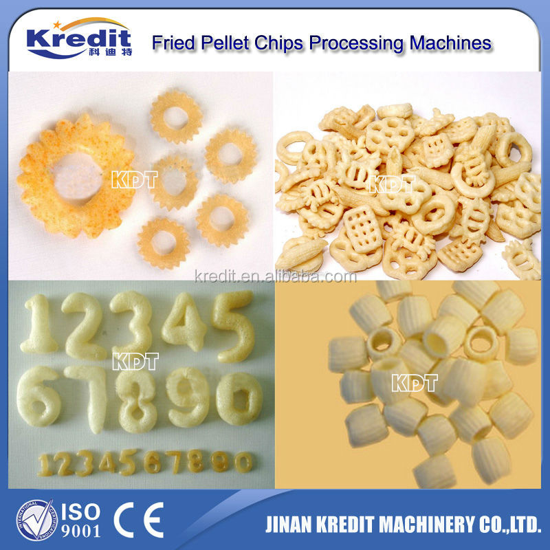 High Quality Fried Potato Chips Snack Processing Line