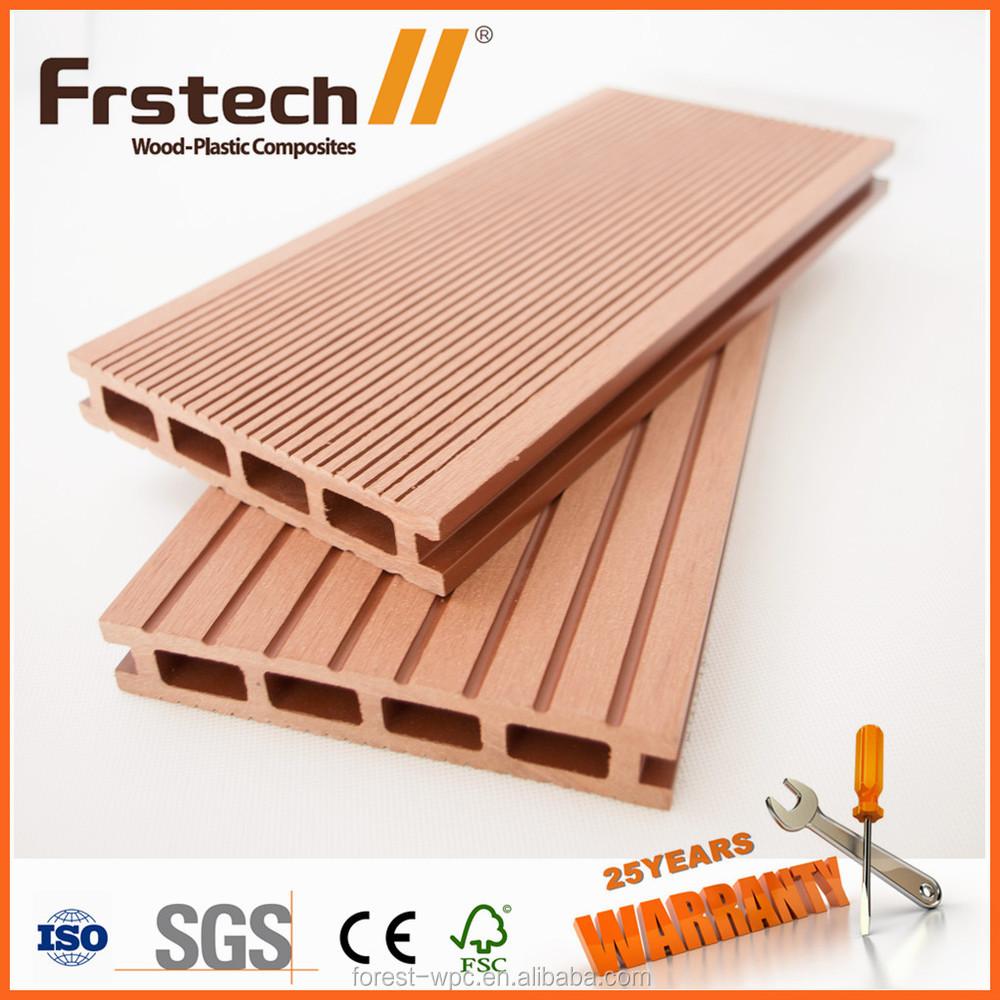 140 x 25 mm frstech bois ext rieur plastique composite for Plancher exterieur plastique