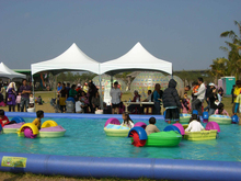 2015 CE Approved BIKIDI Aqua Plastic Kids Hand Paddle boat for Sale D4