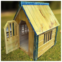 New XL Wood Dog House Wooden Extra Large Breed Doghouse Raised Floor Waterproof