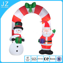 Outdoor decoration christmas inflatable arch/inflatable arch with santa/inflatable santa arch/Inflatable christmas santa arch