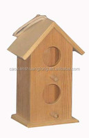 Home Decor Christmas Craft Wooden Bird House, High Quality Bird Houses,Handmade Christmas Bird Houses