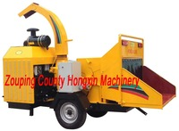 Hot selling Diesel engine Mobile wood chipper HXBC1000 (Brush Chipper)