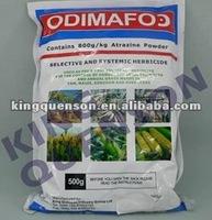 Maize herbicide Atrazine 97% Tech, 90% WDG, 80% WP, 500g/l SC