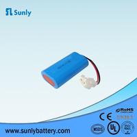 rechargeable li ion battery 18650 7.4v 2200mah li-ion battery 7.4v