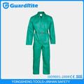 Guardrite marcas a medida pintor brillante sobretodo verde uniforme de trabajo