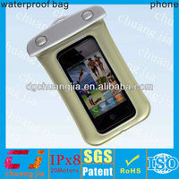 Waterproof mobile phone floating dry bag new for backpack sailing beach