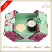 2015 hot sale Candle box packaging