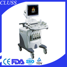 17 inch hospital used 4d ultrasound machine CE marked