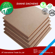Fibreboards Type and Wood Fiber,MDF +melamine paper Material High gloss MDF boards