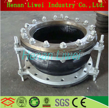 LIWEI hot sale JIS flange type single pipe rubber expansion joint