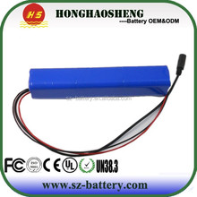 18650 batteries customized capapcity and size li-ion 18650 battery pack power tool rechargeable battery 24v 6ah
