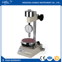 LX-A Shore A hardness dial meter and LAC-J tester stand, Shore A type hardness testing machine