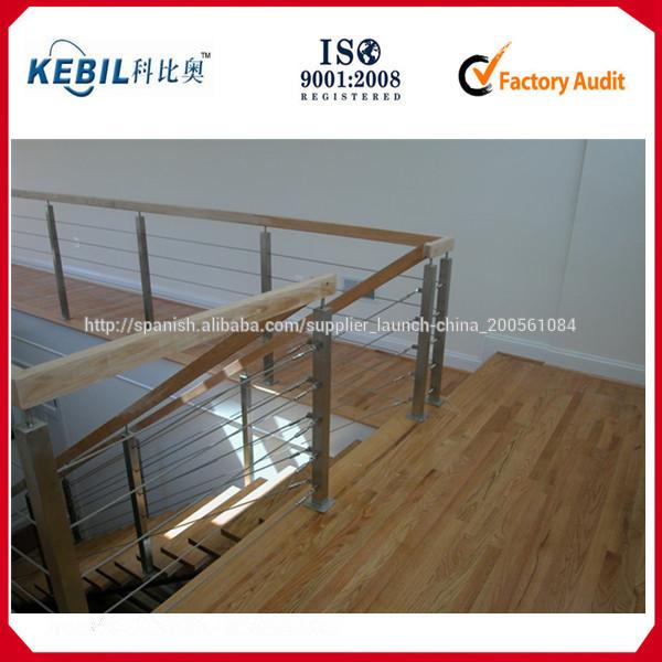 Cable de acero inoxidable y sistemas de post barandilla for Cable de acero precio