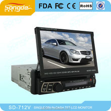 2014 DLS High quality 800*480 HD 7 inch android car dvd single din