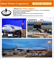 International air Logistics transportation from China to Iran