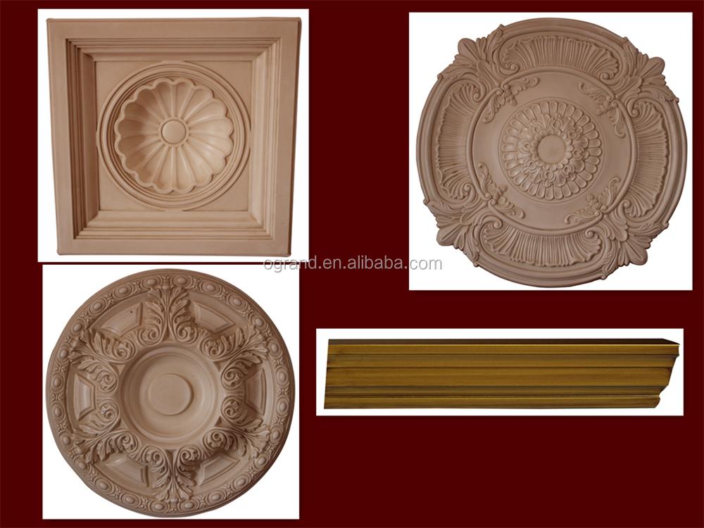 Polyur thane rond m daillons de plafond pour maison d coration d 79 5 cm moulures id de - Entrepot ceramique decor ...