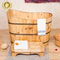 Good quality home and garden square wooden bathtub from China