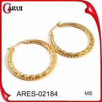 Gold jewelry earrings tops accessories for making earrings double sided earrings