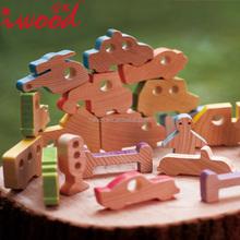 Tema blocos de madeira brinquedos do bebê por atacado distribuidor
