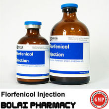 florfenicol veterinario de la inyección de drogas
