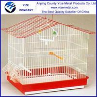 Folding Metal Bird Cage 30X23X39cm/Small Bird Cage( inside cup) 30X23X39cm