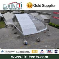 aluminum curve roof sporting tents curve structure tents