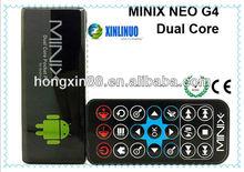 Minix NEO G4 Dual Core Google Smart TV Box Android 4.0 RK3066 Cortex A9 8GB Mini pc Dongle
