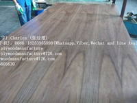 high quality CARB certified 3mm fancy natural walnut plywood