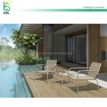Outdoor furniture balcony furniture wicker table and chair sets