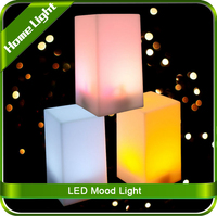 LED Colourful Atmosphere Protect Eyes Bedroom Creative Rechargeable Bar Table Lamp