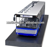 plastic funny toys/ bus model for gifts