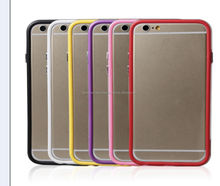 TPU Bumper Colorful Case for iPhone 6, iPhone 5 and iPhone 4 and for Samsung S5 and Note 3