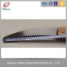 TaiLun High Quality 65Mn Carbon Steel Hand Saw Wooden Handle