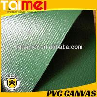 Heavy Duty Waterproof 650 gsm PVC vinyl Coated Canvas Fabrics