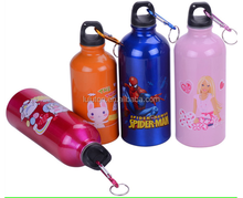 Sports Water Bottles with small Mouth, Various Logo Printings, Colors and Capacities are Available
