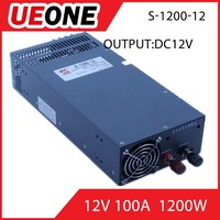 1200W switching power supply 12v 100a LED power supply with high quality