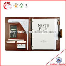 Handmade Notebook Leather Portfolio