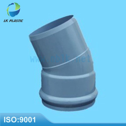 8003 plastic pvc conduit pipe fitting 45 degree elbow