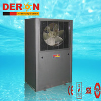 EVI air source water heater with copeland compressor made in Guangzhou china