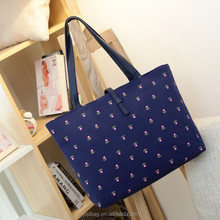 korean small flower printing hobo handbags