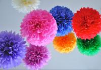 Flower Wall Tissue Paper Pompom Wedding Decoration Wedding