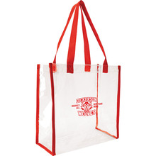 Large Size PVC Clear Tote Bags for Shopping