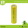 18650 1500mAh 3.2V rechargeable Lithium ion battery with UL from China manufacturer