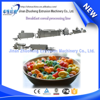 High production froot loops cereals extruding machinery