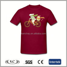 popular low price hotsale man red custom o-neck t-shirt custom o-neck t-shirt