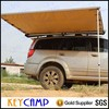Camping tent with wind shelter 4X4 side awning folding car tent